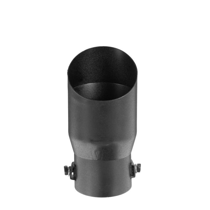 Насадка на глушитель, d= 50 мм, черный