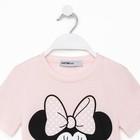 """Футболка детская Disney """"Minnie Mouse"""", рост 98-104 (30), розовый"""