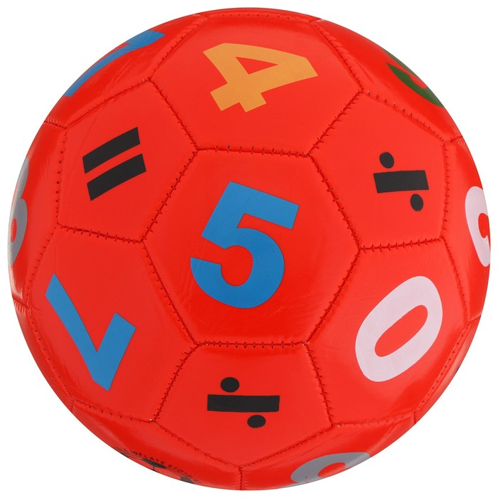 Мяч футбольный детский, размер 5, PVC, МИКС