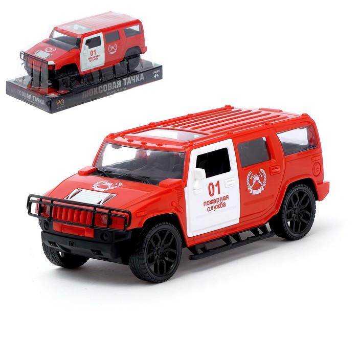 Джип инерционный «Пожарная служба»