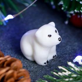 """Мыло фигурное """"Белый медвежонок"""" 10г"""