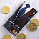 Шоколадные монеты в конверте для денег «Лучшему из лучших», 5 шт, 30 г