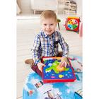 Игрушка развивающая «Умные шестерёнки» с карточками и игровым полем, конструктор - фото 105495685