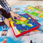 Игрушка развивающая «Умные шестерёнки» с карточками и игровым полем, конструктор - фото 105495684