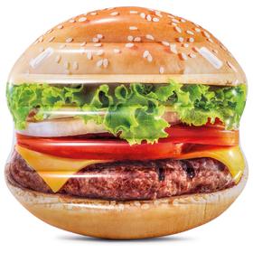 Плот для плавания «Гамбургер» 145 х 142 см, 58780EU INTEX