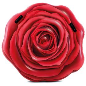 Матрас для плавания «Роза», 127 х 119 см, 58783EU INTEX
