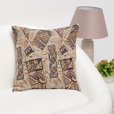 """Pillow case decorative Ethel """"Mexico"""" 40×40 cm, density 280 g/m2, 30% cotton, 70% p/e"""