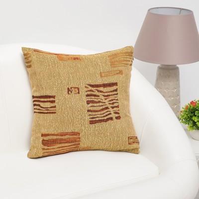 """Pillow case decorative Ethel """"Waltz"""" 40×40 cm, density 280 g/m2, 30% cotton, 70% p/e"""
