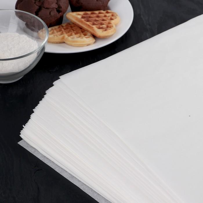 Бумага для выпечки, профессиональная, 38×42 cм Nordic EB Golden, 500 листов, силиконизированная - фото 308015233