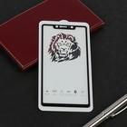 Защитное стекло 2D Innovation для Xiaomi Mi 8 SE, полный клей, черное