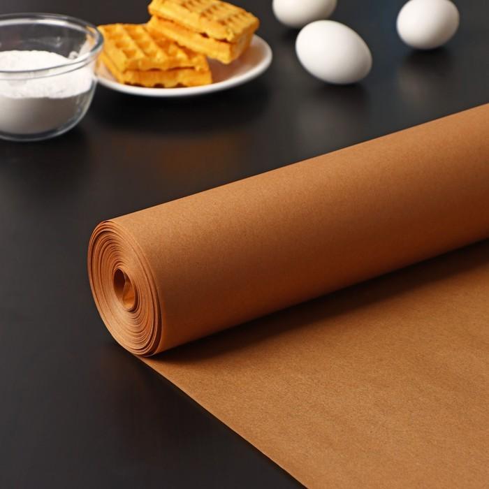 Бумага для выпечки, профессиональная 38×100 м Nordic EB Golden, силиконизированная