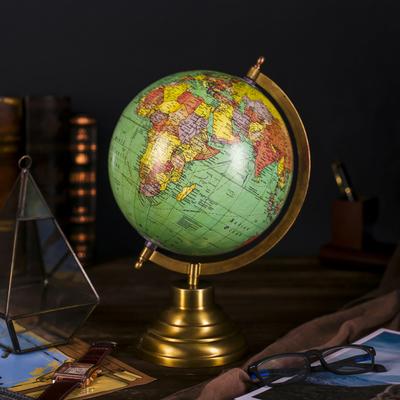 Сувенир глобус Зелёная классика