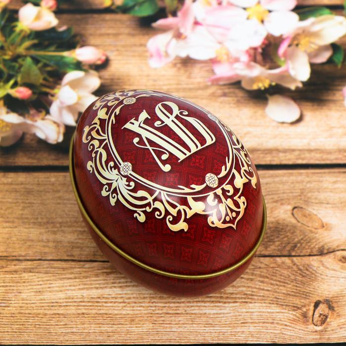 Пасхальная свеча в баночке «Орнаментальная»