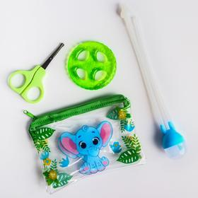 """Set manicure kids """"Our Miracle"""", 2-piece: scissors, knipser"""