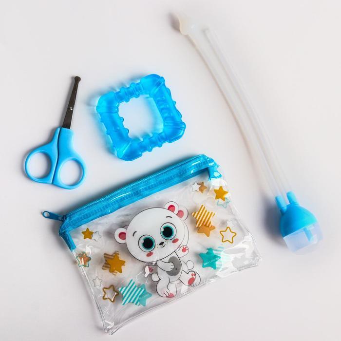 Набор маникюрный детский «Для Малыша», 2 предмета: ножнички, книпсер