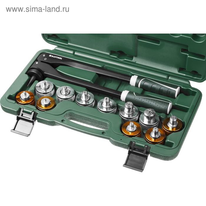 Расширитель-калибратор KRAFTOOL  23650-H12, для муфт, под пайку труб из цв металлов, кейс