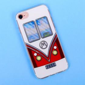 Чехол для телефона iPhone 7 с рельефным нанесением Free, 6.5 × 14 см