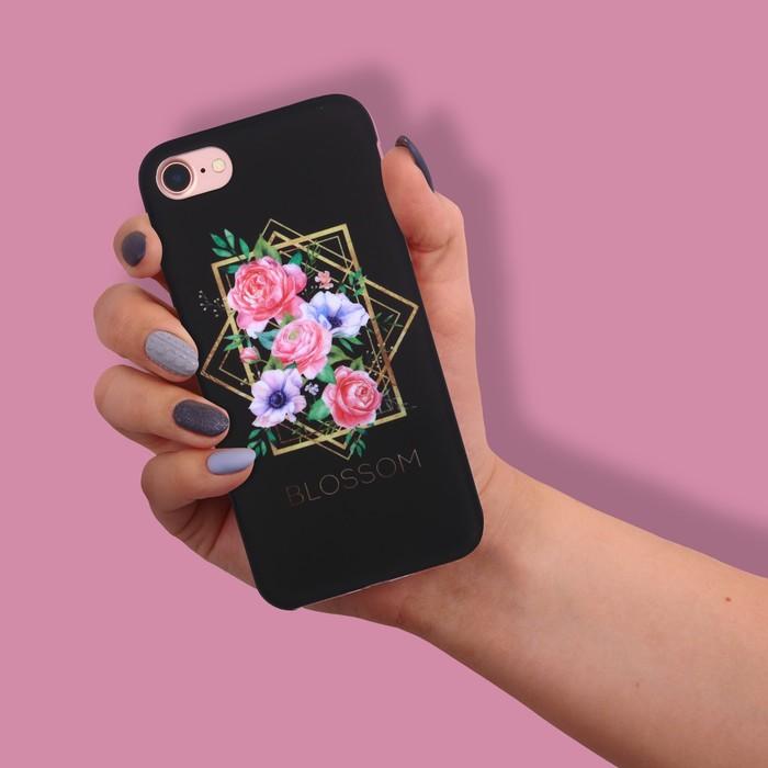 Чехол для телефона iPhone 7 Blossom, soft touch 6.5 × 14 см