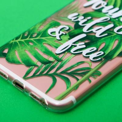 Чехол для телефона iPhone 7 Yang wild and free, 6.5 × 14 см