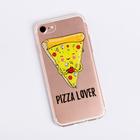 Чехол для телефона iPhone 6, 6S, 7 Pizza lover, 6.5 × 14 см