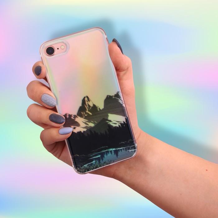 Чехол для телефона iPhone 7 с эффектом Nature, 6.5 × 14 см
