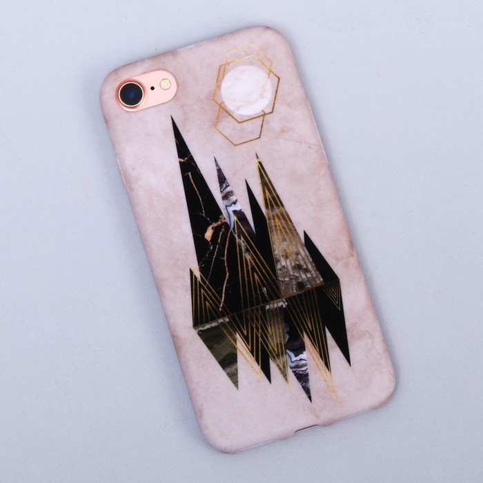 Чехол для телефона iPhone 7 «Абстракция», soft touch 6.5 × 14 см