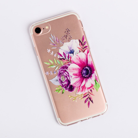 Phone case for iPhone 6, 6S, 7 Bouque, 6.5 × 14 cm