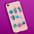 Чехол для телефона iPhone 6, 6S, 7 с эпоксидными элементами «Любовь», 6.5 × 14 см