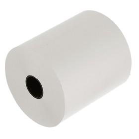 Чековая лента термо 80мм 74м 80х18х74, диаметр ролика 76 мм, чёрный оттиск Ош