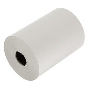 Чековая лента термо 80мм 50м 80х18х50, диаметр ролика 62 мм, чёрный оттиск Ош
