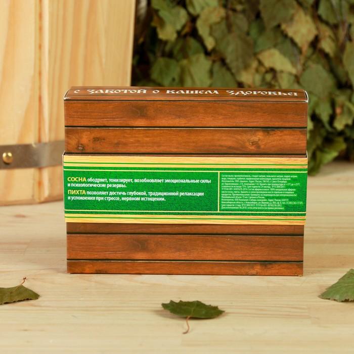 """Набор """"Сила хвойного леса"""", мыло ручной работы, 2 аромамасла 15 мл"""