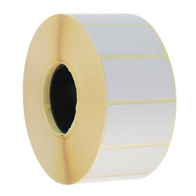 Термоэтикетка 47х25 мм, диаметр втулки 40 мм, 2000 штук