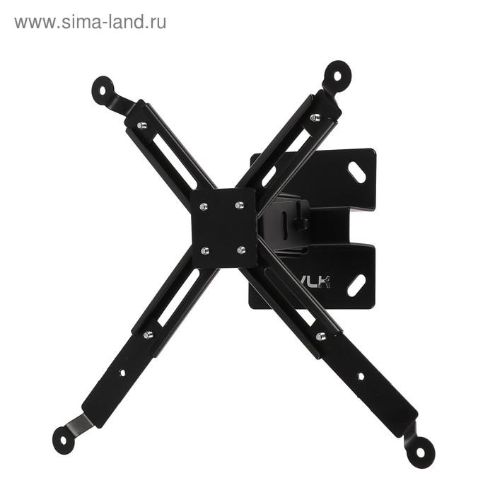 Кронштейн VLK TRENTO-81, для проекторов, потолочный, до 15 кг, 150 мм, черный