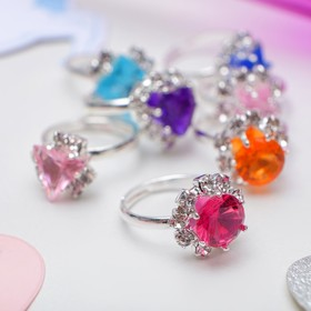 """Ring child's """"Icicles"""", MIX color in silver"""