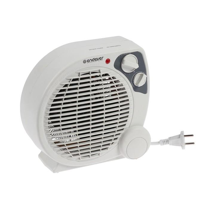 Тепловентилятор Endever Flame-10, 2000 Вт, 3 режима, белый