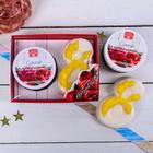 """Женский подарочный набор """"Самой прекрасной"""": скраб для тела и фигурное мыло, с ароматом ягодного чизкейка"""