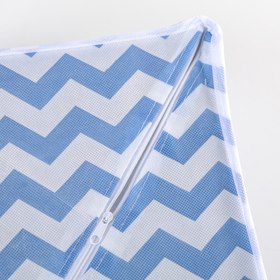 Органайзер для белья «Зигзаг», 32×24×12 см, 8 ячеек, цвет синий - фото 4640757