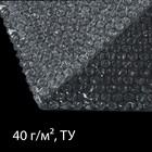 Плёнка воздушно-пузырьковая, толщина 40 мкм, 1,5 × 5 м, двухслойная