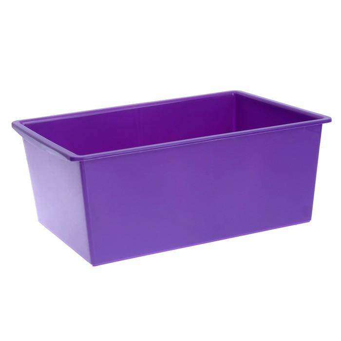 Ящик универсальный, объём 30 л, цвет фиолетовый