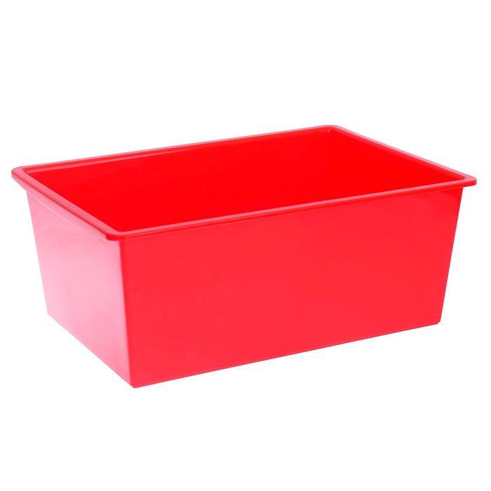 Ящик универсальный, объём 30 л, цвет ярко-красный