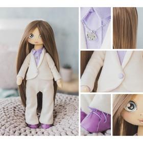 Интерьерная кукла «Джин», набор для шитья, 18 × 22.5 × 2.5 см
