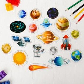 "Educational magnets ""We are Studying the Universe"" (set of 18pcs)"