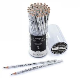Карандаш чернографитный 3 мм ArtGraphix. Sketches, НВ, трёхгранный, пластиковый корпус
