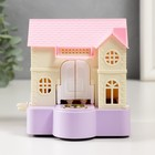 """Piggy plastic """"Reliable protection of the house"""" mechanical 11,5x10,5x11 cm"""