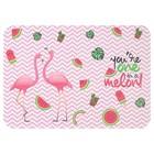 Накладка на стол для творчества, пластиковая, 330 х 230 мм, «Фламинго»