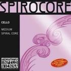 Отдельная струна А/Ля для виолончели Thomastik S25 Spirocore 4/4, среднее натяжение
