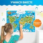 Обучающий плакат «Животные мира», звуковые эффекты - фото 105605306