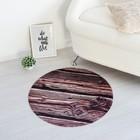 Ковёр Этель «Авангард», диаметр 70 см, велюр, поролон 400 г/м² - фото 784799