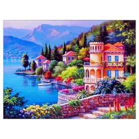 Алмазная мозаика «Мечта» 40 × 30 см, 36 цветов