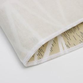 Чехол для гладильной доски «Узоры», 140×50 см, цвет МИКС - фото 4636261
